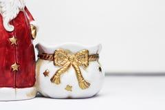 Sacchetto del Babbo Natale Immagini Stock