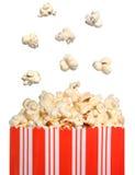 Sacchetto del popcorn fotografia stock libera da diritti
