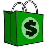 Sacchetto della spesa del dollaro