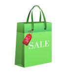 Sacchetto della spesa, vendita Immagini Stock Libere da Diritti