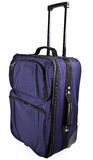Sacchetto della valigia dei bagagli con la maniglia di tiro Fotografie Stock