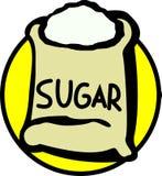 Sacchetto dello zucchero Immagini Stock