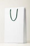 Sacchetto di acquisto bianco. Immagine Stock