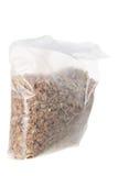 Sacchetto di cereale da prima colazione Immagini Stock