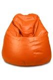 Sacchetto di fagiolo arancione Fotografia Stock Libera da Diritti