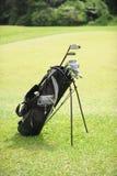 Sacchetto di golf fotografie stock libere da diritti