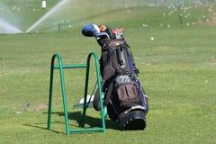 Sacchetto di golf Immagini Stock