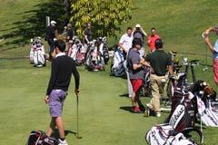 Sacchetto di golf a golf di Andalusia aperto, Marbella Fotografia Stock