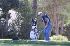 Sacchetto di golf a golf di Andalusia aperto, Marbella Fotografia Stock Libera da Diritti