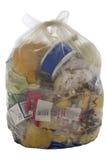 Sacchetto di immondizia Immagine Stock