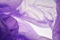 Sacchetto di plastica Fondo variopinto viola dell'acquerello per progettazione grafica I sacchetti di plastica sottraggono il mod fotografie stock libere da diritti