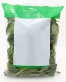 Sacchetto di spinaci Immagini Stock