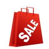 Sacchetto di vendita di acquisto Immagini Stock Libere da Diritti