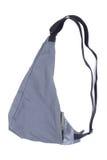 Sacchetto grigio Fotografia Stock Libera da Diritti