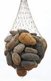 Sacchetto isolato delle pietre Immagini Stock Libere da Diritti
