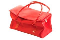 Sacchetto rosso Fotografia Stock