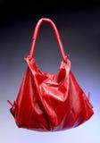 Sacchetto rosso Fotografie Stock Libere da Diritti