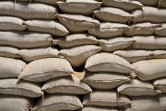 Sacchi del riso Immagini Stock Libere da Diritti