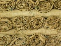 sacchi della canapa Fotografia Stock