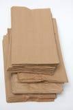 Sacchi di carta del Brown Fotografie Stock