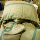 Sacchi di riso Immagini Stock Libere da Diritti