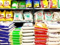 Sacchi di riso Fotografia Stock