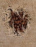 Sacco del caffè Fotografia Stock Libera da Diritti