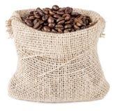 Sacco del caffè Fotografie Stock Libere da Diritti