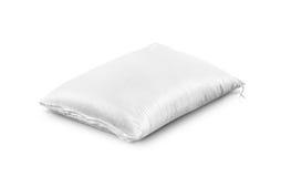 Sacco del riso, prodotto di agricoltura isolato su bianco fotografia stock