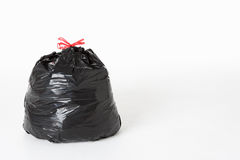 Sacco dell'immondizia in pieno di spreco Fotografia Stock