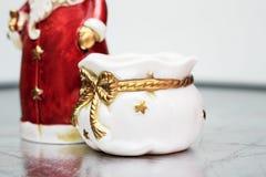 Sacco della Santa con i regali Fotografie Stock