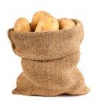 Sacco delle patate Immagine Stock