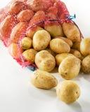 Sacco delle patate fresche Immagini Stock