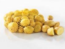 Sacco delle patate fresche Fotografie Stock Libere da Diritti