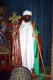 Sacerdote africano Fotografía de archivo