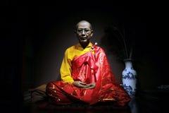 Sacerdote budista chino imagen de archivo