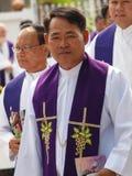 Sacerdote católico Foto de archivo libre de regalías