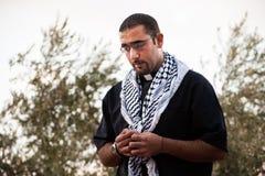 Sacerdote cristiano palestino Fotos de archivo libres de regalías