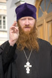 Sacerdote de la bendición Imagen de archivo libre de regalías