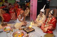 Sacerdote hindú Foto de archivo
