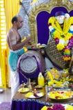 Sacerdote hindú Imágenes de archivo libres de regalías