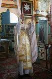 Sacerdote ortodosso Fotografie Stock