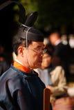 Sacerdote sintoísta, Tokio, Japón Fotografía de archivo