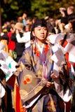 Sacerdote sintoísta, Tokio, Japón Imagen de archivo libre de regalías