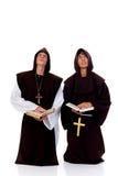 Sacerdotes de Víspera de Todos los Santos Fotografía de archivo