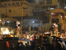 Sacerdotes jovenes del Brahmin Imagenes de archivo