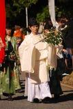 Sacerdotes sintoístas, Tokio, Japón Fotos de archivo libres de regalías