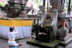 Sacerdotisa hindú Fotos de archivo libres de regalías