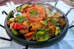 Sach - comida búlgara tradicional Imágenes de archivo libres de regalías