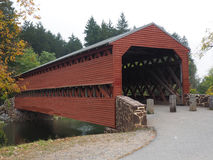 Sach's Covered Bridge Stock Images